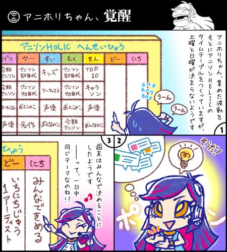 第3話「アニホリちゃん、覚醒!」